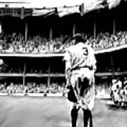 The Greatest Of All  Babe Ruth Print by Iconic Images Art Gallery David Pucciarelli