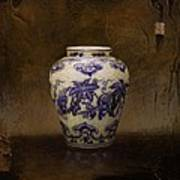 The Guan Vase Print by Bruno Capolongo