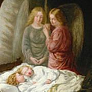 The Guardian Angels  Print by Joshua Hargrave Sams Mann