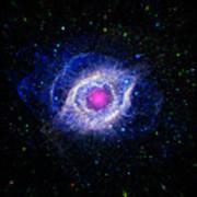 The Helix Nebula  Print by The  Vault - Jennifer Rondinelli Reilly