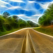 The Journey Print by Wendy J St Christopher