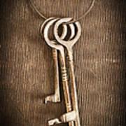 The Keys Print by Edward Fielding