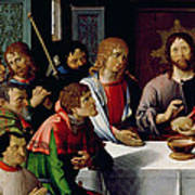 The Last Supper Print by French School