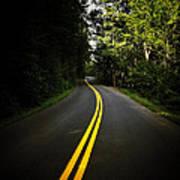 The Long And Winding Road Print by Natasha Marco