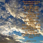 The Lords Prayer Print by Glenn McCarthy Art and Photography