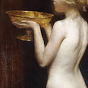 The Loving Cup Print by Janet Agnes Cumbrae-Stewart