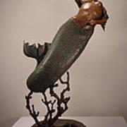 The Mermaid Print by Lisbeth Sabol