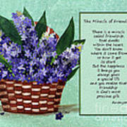 The Miracle Of Friendship Print by Barbara Griffin