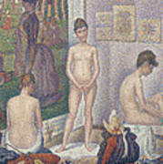 The Models Print by Georges Pierre Seurat