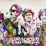 The Monkees Print by Aged Pixel