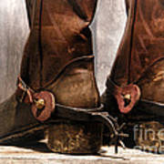 The Muddy Boots Print by Olivier Le Queinec