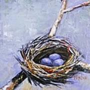 The Nest Print by Brandi  Hickman