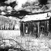 The Old Homestead Print by Cat Connor