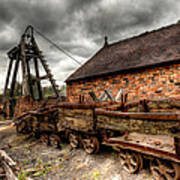 The Old Mine Print by Adrian Evans