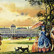The Palace Of The Tuileries Print by Andrew Howat