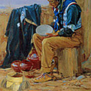 The Pottery Maker Print by Gerald Cassidy