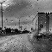 The Rain Makes Mysteries Print by Wendy J St Christopher