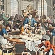 The Reward Of Cruelty, From The Four Print by William Hogarth