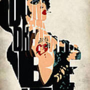 The Rocky Horror Picture Show - Dr. Frank-n-furter Print by Ayse Deniz