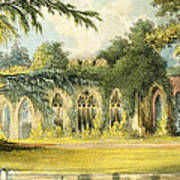 The Ruins   Frogmore Print by John Gendall