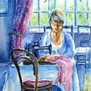 The Seamstress Print by Trudi Doyle