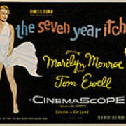 The Seven Year Itch Print by Georgia Fowler