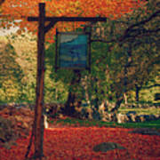 The Sign Of Fall Colors Print by Jeff Folger