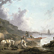 The Smugglers, 1792 Print by George Morland