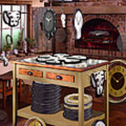 The Soft Clock Shop 2 Print by Mike McGlothlen