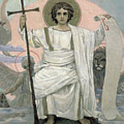 The Son Of God   The Word Of God Print by Victor Mikhailovich Vasnetsov