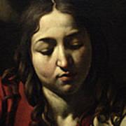 The Supper At Emmaus Print by Michelangelo Merisi da Caravaggio