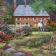 The Sweet Garden Print by Chuck Pinson