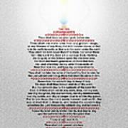 The Ten Commandments Print by Emanuel Asante Jr