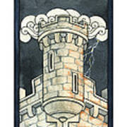The Tower Print by Nora Blansett