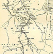 The Upper Nile Print by English School