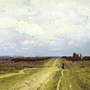 The Vladimirka Road Print by Isaak Ilyich Levitan