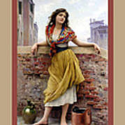 The Water Carrier Poster Print by Eugene de Blaas