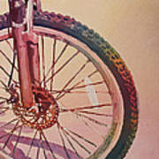 The Wheel In Color Print by Jenny Armitage