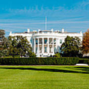 The White House Print by Greg Fortier