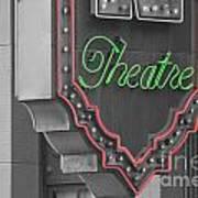 Theatre Print by Dan Holm