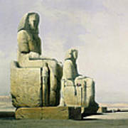 Thebes Print by David Roberts