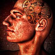 Thinking Man Print by Bob Orsillo