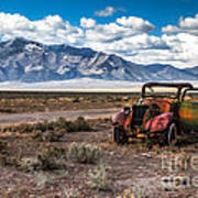 This Old Truck Print by Robert Bales