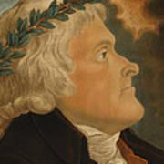 Thomas Jefferson Print by Michael Sokolnicki