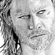 Thor Odinson Print by Kayleigh Semeniuk
