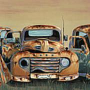 Three Amigos Print by John Wyckoff