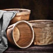 Three Basket Stil Life Print by Tom Mc Nemar