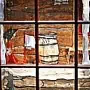 Through The Window Print by Marty Koch