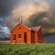 Thunderous Plains Print by Jill Van Doren Rolo