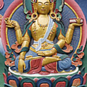 Tibetan Buddhist Deity Print by Tim Gainey